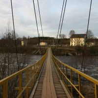 Подвесной мост, Тихвин