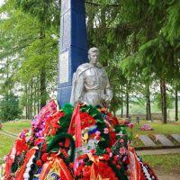 Памятник солдату, Тихвин