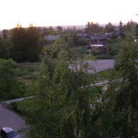двор ул.Чехова д.5 (лето), Тосно