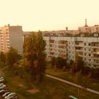 Вид на улицу Горького, Тосно