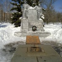 Monument to fighters of a socialist revolution, Аткарск