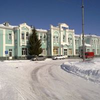 Railway station of the city of Atkarsk, Аткарск