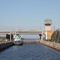 Балаково-в шлюзе ГЭС, Балаково