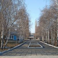 Аллея памяти в парке Куйбышева., Балашов