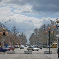 Ул. К. Маркса от пешеходной зоны., Балашов