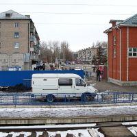 Вокзал с ЖД платформы, Балашов