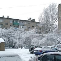 Во дворах после снегопада, Балашов