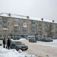 Автовокзал. Зима, Балашов