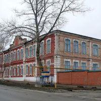 Медицинское училище, вид с Луначарского, Балашов