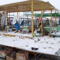 Снегопад на Дмитриевском рынке, Балашов