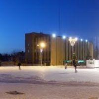 Горка и каток на центральной площади, Балашов