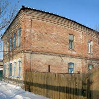 Старая двухэтажка на ул Пугачёвской, Балашов