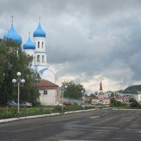 Площадь с видом на церковь, Балтай