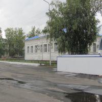 Здание на площади, Балтай