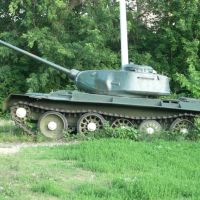 "The Musiem of Warlike Equipment: ""Tank (lateral view)"", Вольск"