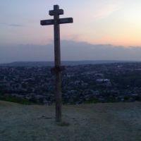 Вольск.Россия.Поклонный крест над городом.(август 2007)Volsk.Russia.Cross over the city. (August 2007), Вольск