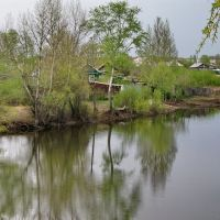 Вид с моста, Ивантеевка