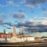 Главная площадь города Красный Кут, Красный Кут