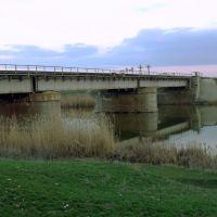 Ж/Д мост через Еруслан, Красный Кут