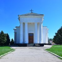 Евангелическо-лютеранская церковь Святой Троицы, Маркс