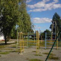 Двор МОУ СОШ №3, Петровск