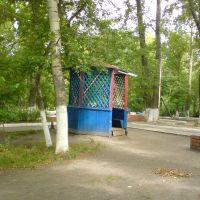 Беседка в городском парке, Петровск