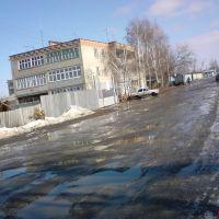Улица Володарского, рядом с городским рынком, Петровск