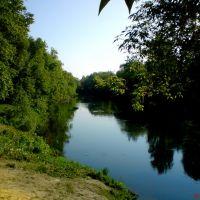Река Медведица в городском парке, Петровск