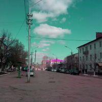 Петровск. Разбитый асфальт на пересечении улиц Московской и Ф.Энгельса, Петровск