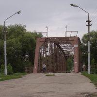Железный мост через реку Медведица, Петровск