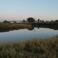Балка, вид с плотины, Питерка