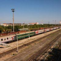 train N45 Volgograd- Irkutsk, Пугачев