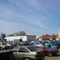 колхозный рынок, Романовка