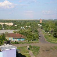 панорама Романовки, Романовка