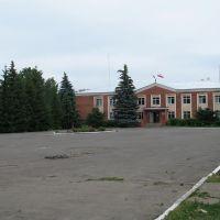 Здание администрации, Романовка