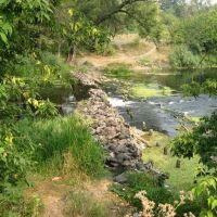 Запруда на реке Карай, Романовка