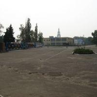 Центральная площадь Романовки, Романовка