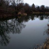 Терса поздней осенью / The Tersa river at the late autumn, Самойловка