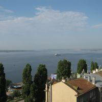 View from Slovakia hotel to Volga, Саратов