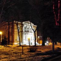Night Saratov, Radishev museum, Саратов