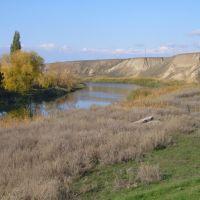 Река Б.Караман в Степном, Степное