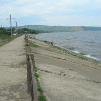 Дамба вдоль Хвалынска, Хвалынск