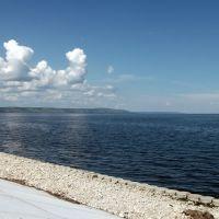 Саратовское водохранилище в Хвалынске, Хвалынск