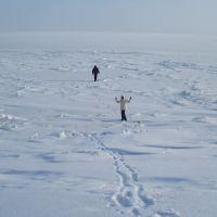 Замерзшая Волга, Хвалынск