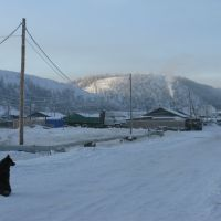 первые заморозки в Батагае 13.10.2011, Батагай
