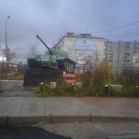 Memorial . Tank /  NW view, Беркакит
