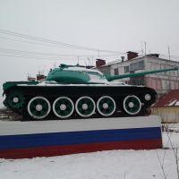 Т-44 в п. Беркакит, Беркакит