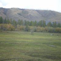 Вид на гору Аппыт, Верхоянск