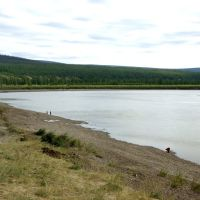 Yana river, Верхоянск