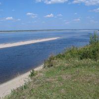 Viljuisk river near Viljuisk town, Вилюйск